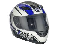 Casque Speeds Integral Performance II Racing Graphic bleu taille XL (61-62cm)