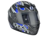 Casque Speeds intégral Performance II Tribal Graphic bleu